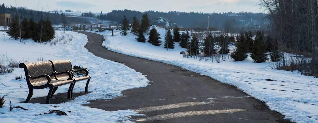 Precedence path in winter