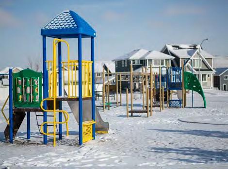 Precedence playground in winter